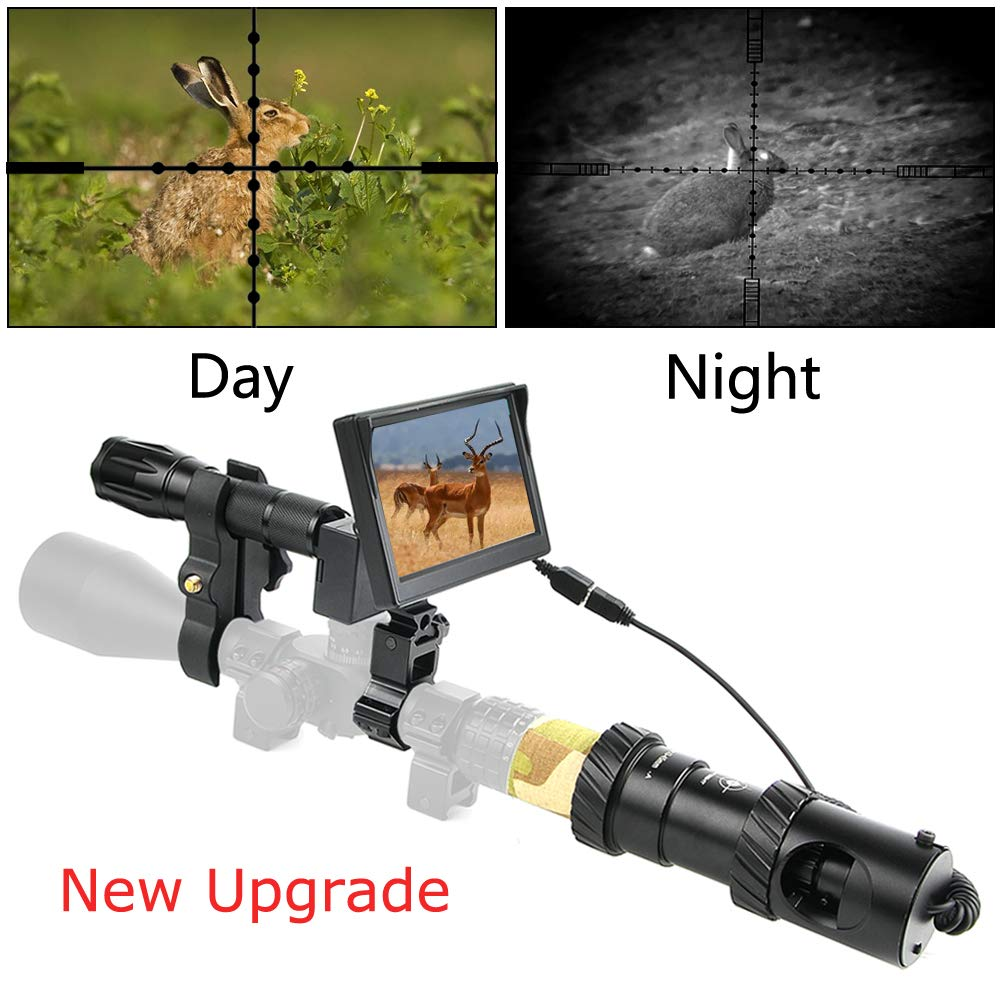 BESTSIGHT DIY Digital Night Vision Scope for Rifle Hunting