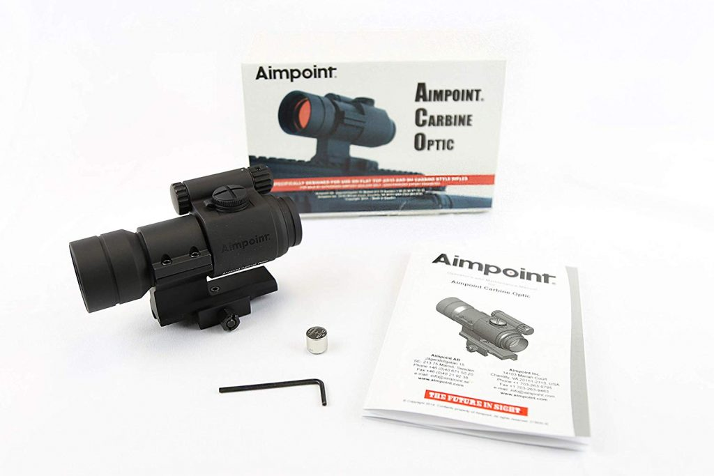 Aimpoint Carbine Optic (ACO) Red Dot Reflex Sight with Mount - 2 MOA - 200174