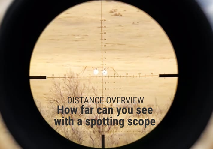 spotting scope distance overview