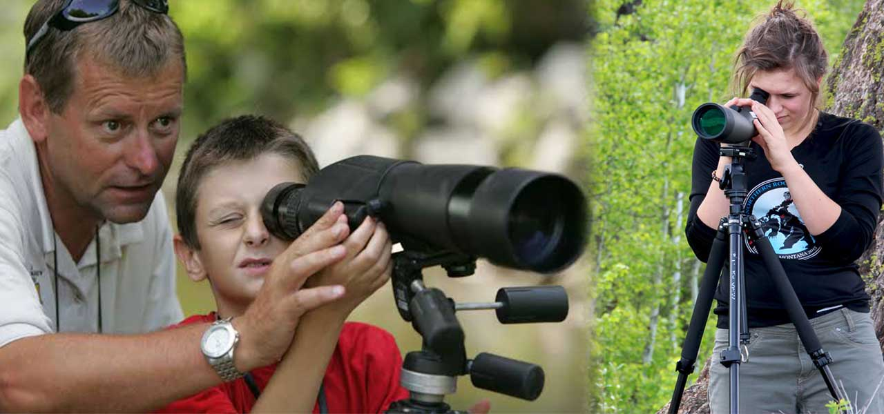 spotting scope Distance Overview Image
