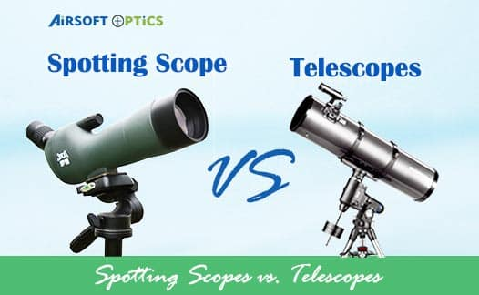 spotting scopes and telescopes