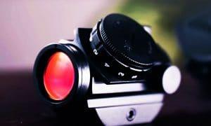 Reflex-sight's-red-dot